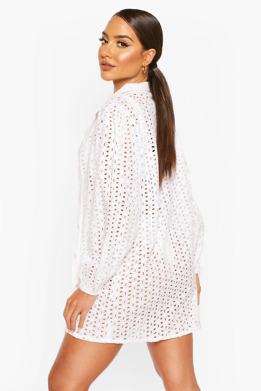 Boohoo | Пляжная юбка с вышивкой | Clouty