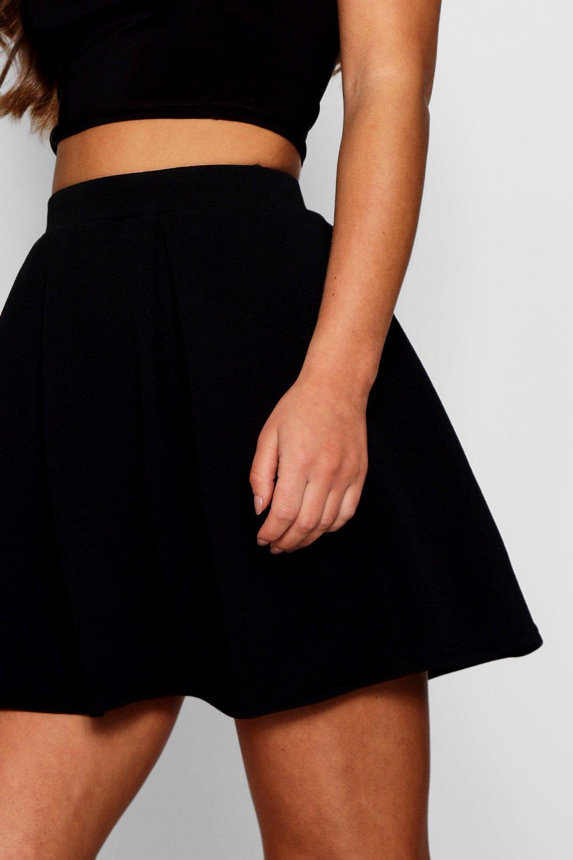 Boohoo | Короткая юбка в широкую складку маленького размера | Clouty