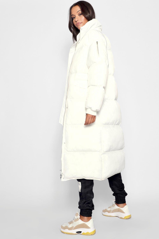 Boohoo   Удлиненное пальто с мягкой подкладкой из коллекции «Tall»   Clouty