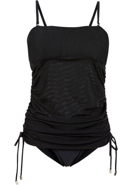 Bonprix | Танкини со съемными бретелями (черный) | Clouty