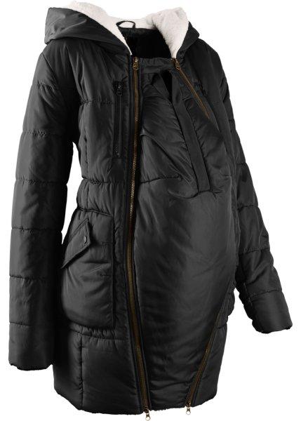 3dcae313e2b4 Bonprix   Мода для беременных  куртка с подкладкой и карманом-вкладкой для  малыша (