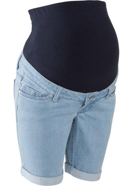 Джинсовые шорты для беременных (голубой) CL000015803620 купить за 999р f2c5c55369f