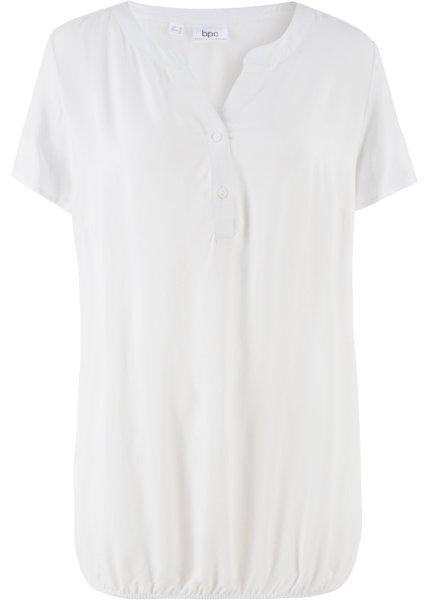 Bonprix | Блузка с коротким рукавом (кремовый) | Clouty