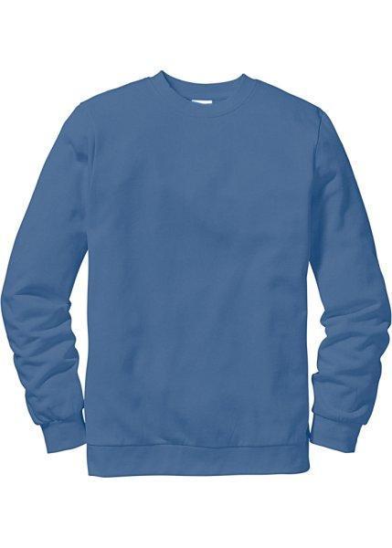 Bonprix   Свитшот стандартного прямого кроя regular fit (синий)   Clouty ... 8953d49ceb1