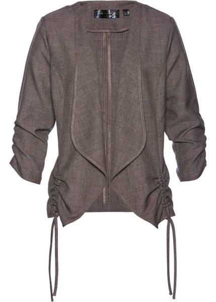 Bonprix | Пиджак (серо-коричневый) | Clouty