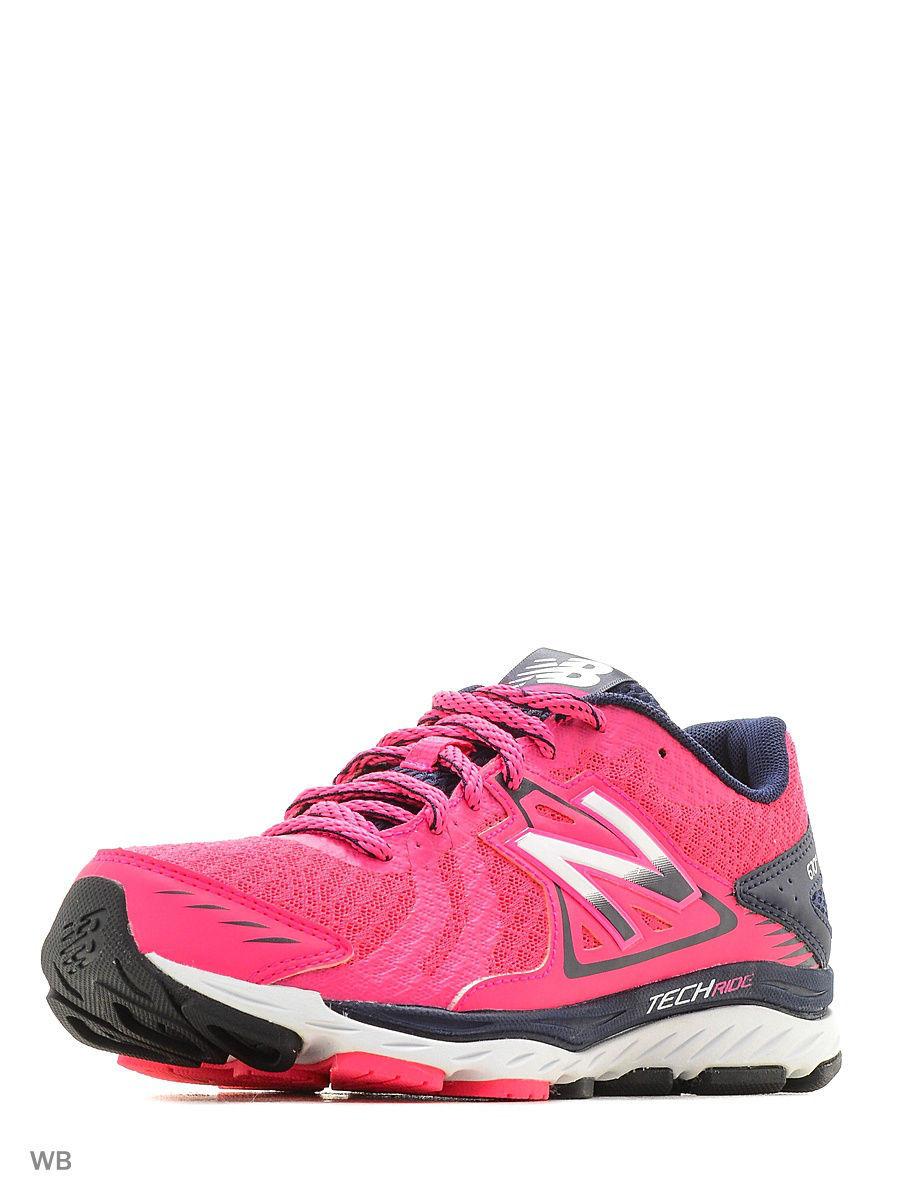 cbb2d9f1fb245 Кроссовки 670v5 W670PW5/B, цвет: розовый - цена 4893 руб., купить на ...