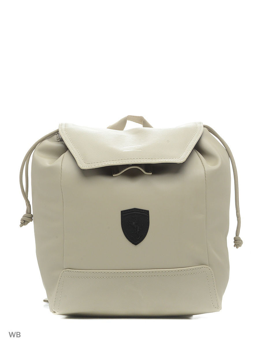 b9215db9243c Рюкзак Ferrari LS Zainetto Backpack 07484903, цвет: бежевый - цена ...