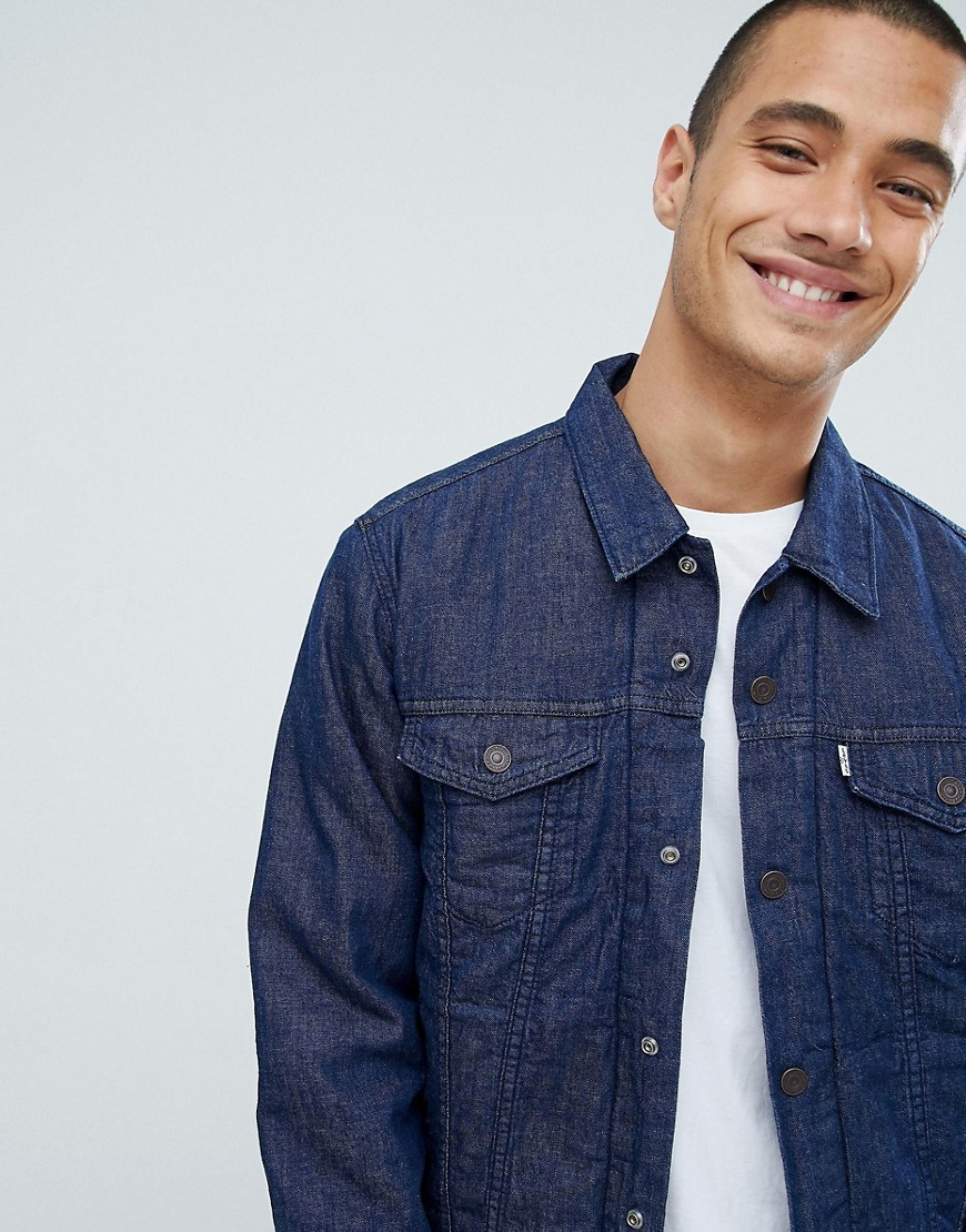 Levi's | Университетская куртка Levis Trucker - Синий | Clouty