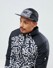 Черная кепка Element x Keith Haring - Черный
