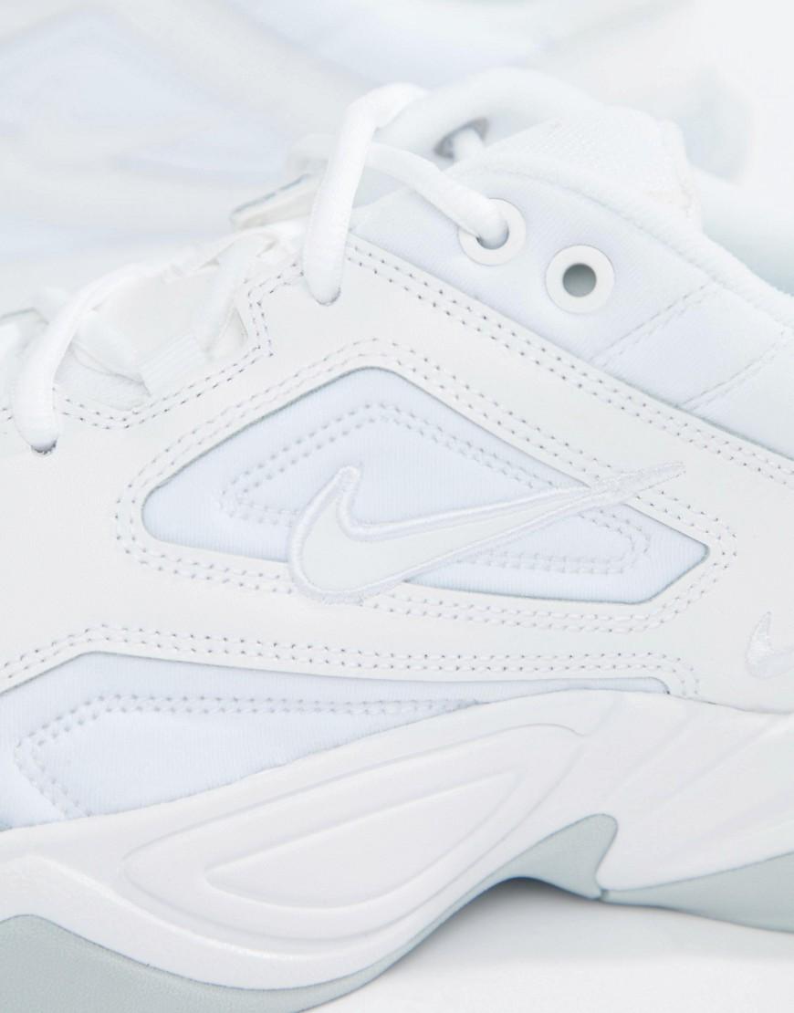 5fe8f0e3 ... NIKE | Белые кроссовки Nike M2K Tekno AV4789-101 - Белый | Clouty