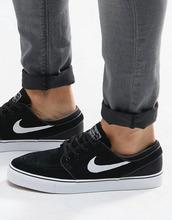 NIKE SB   Черные кроссовки Nike SB Stefan Janoski 333824-026 - Черный    Clouty c97a44f80e9
