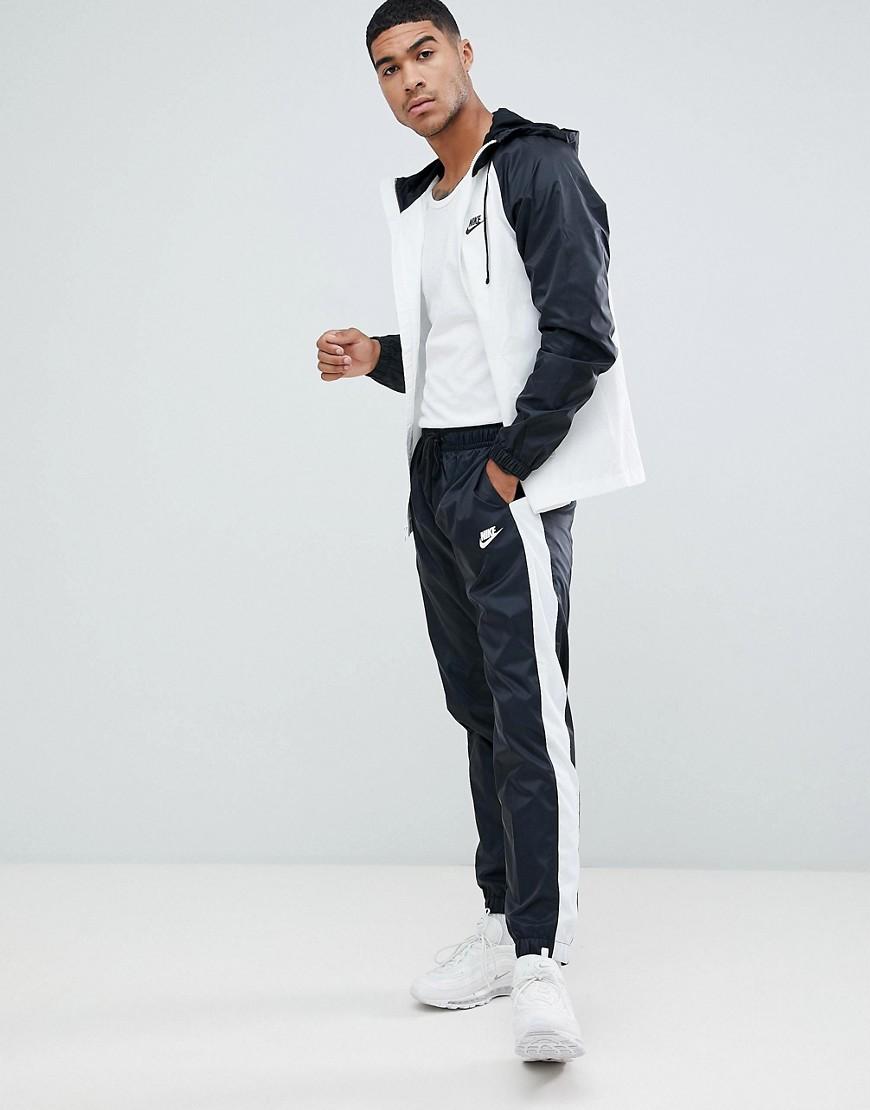 e63b7173 NIKE | Черный спортивный костюм колор блок Nike 928119-011 - Черный |  Clouty ...