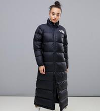 Черное длинное пальто The North Face Womens Nuptse - Черный