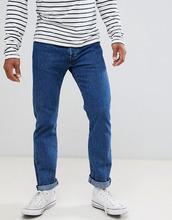 Прямые выбеленные джинсы с классической талией Levi's Original 501 - Синий