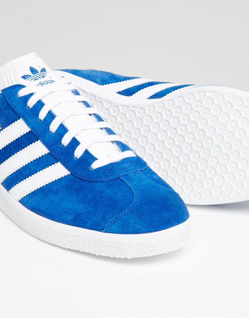 adidas Originals | Синие кеды adidas Originals Gazelle s76227 - Синий | Clouty