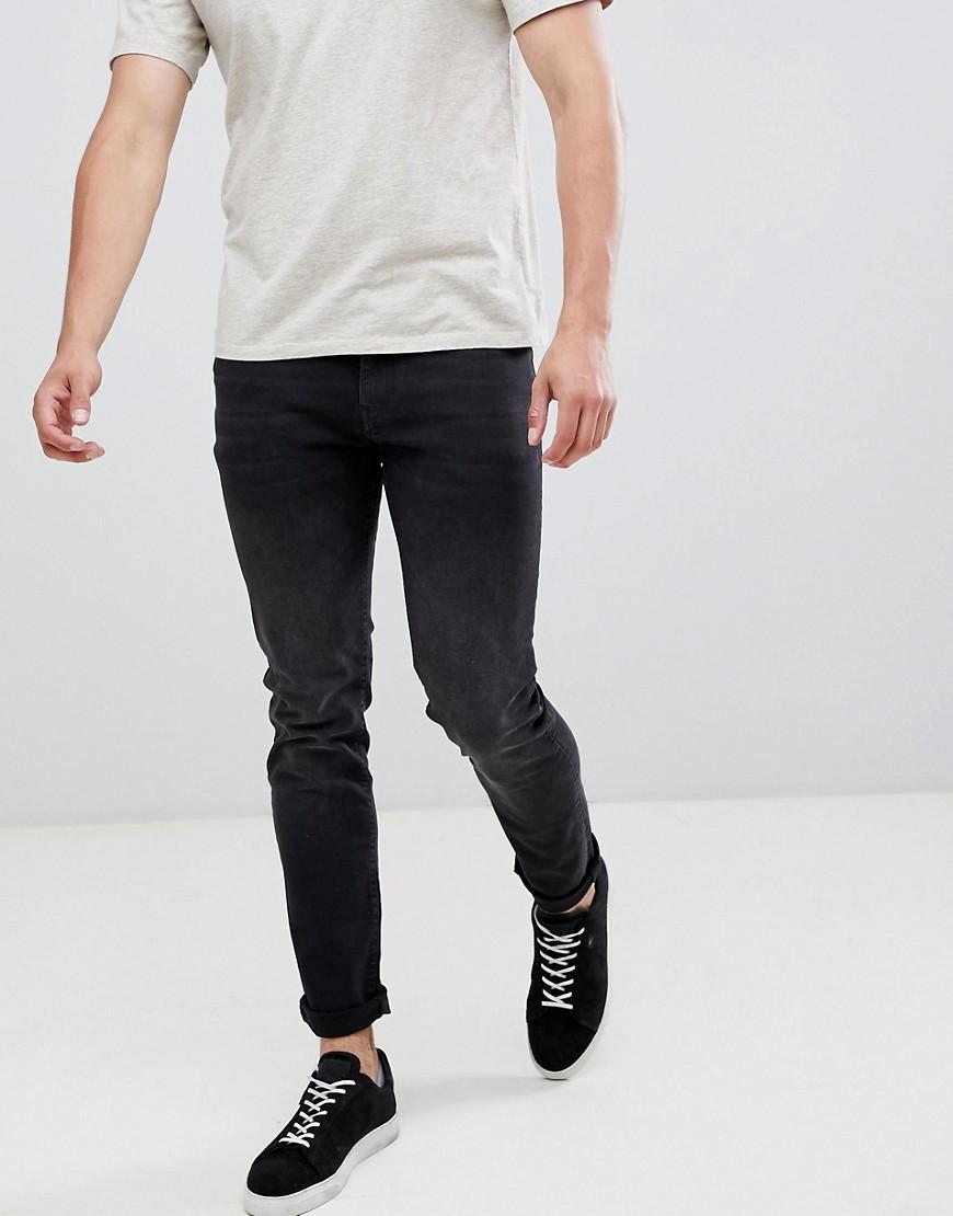 Celio | Узкие черные джинсы Celio - Черный | Clouty