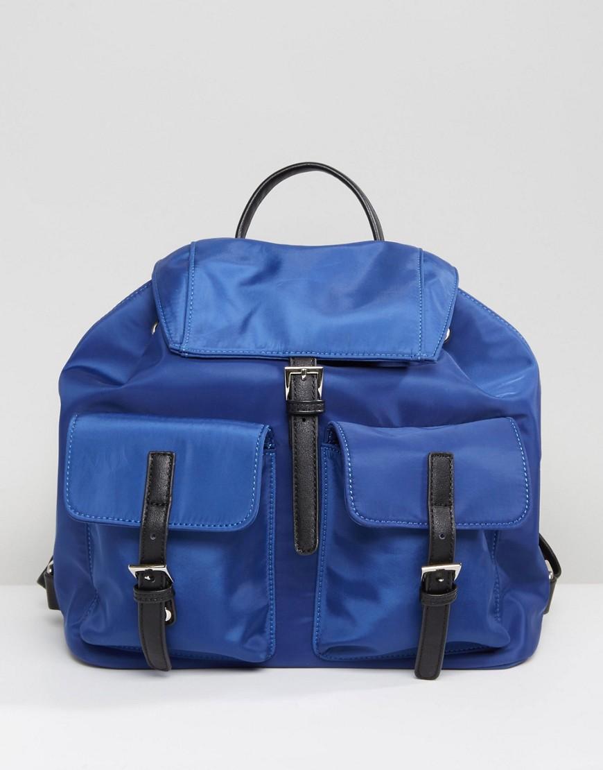 QUPID | Рюкзак со множеством карманов Qupid - Темно-синий | Clouty