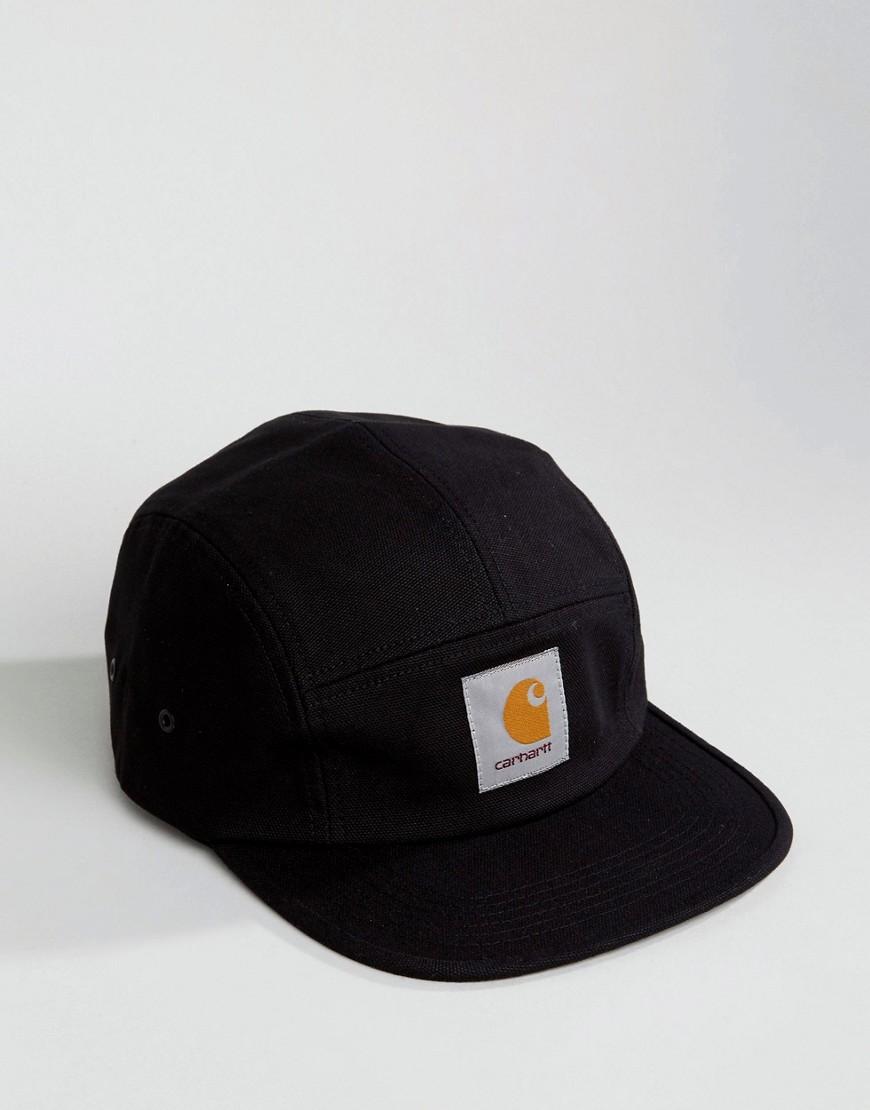 CARHARTT | Черный 5-панельная кепка Carhartt WIP Backley - Черныи | Clouty
