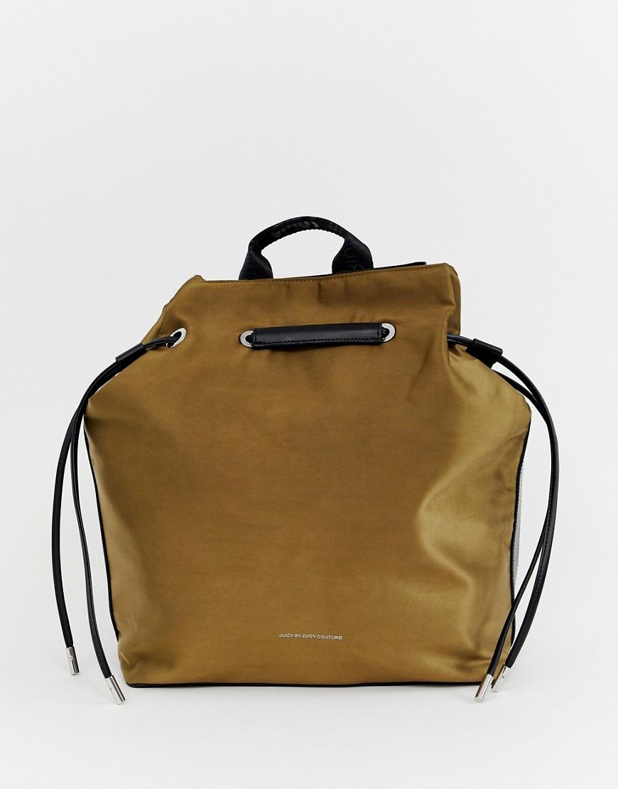 Juicy Couture | Рюкзак с затягивающимся шнурком Juicy Couture - Зеленый | Clouty