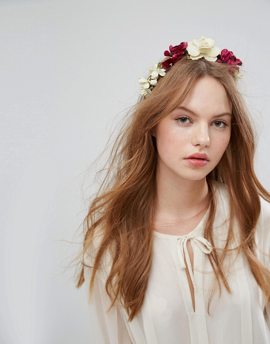Her Curious Nature | Заколка для волос с цветочной отделкой Her Curious Nature - Мульти | Clouty