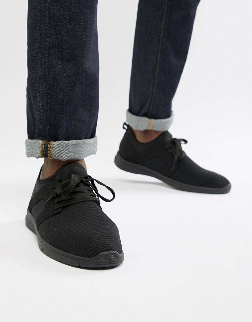 New Look   Черные кроссовки New Look - Черный   Clouty