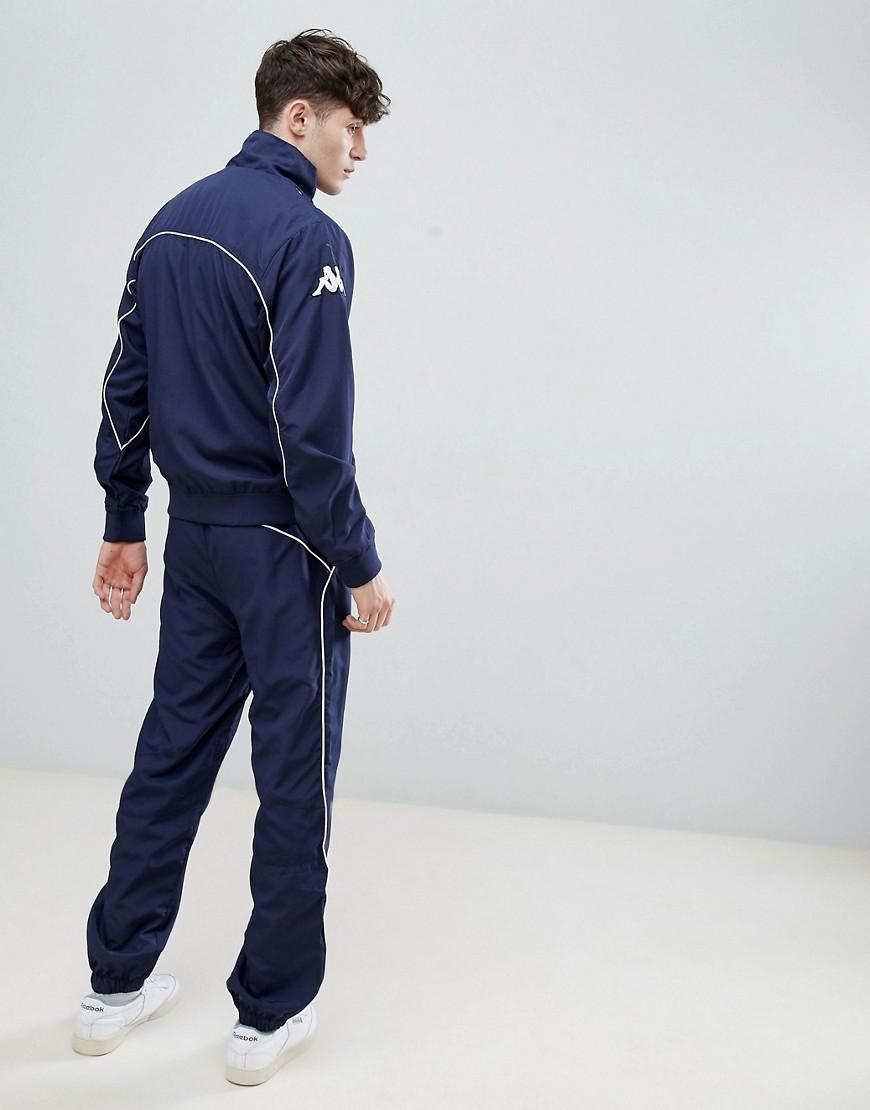 cb6e663f ... Kappa | Спортивный костюм Kappa Spinea - Темно-синий | Clouty ...