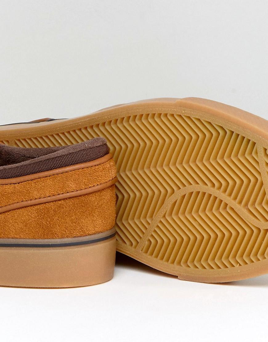2cbf9e06 ... NIKE SB | Коричневый Коричневые кроссовки Nike SB Zoom Stefan Janoski  333824-214 | Clouty