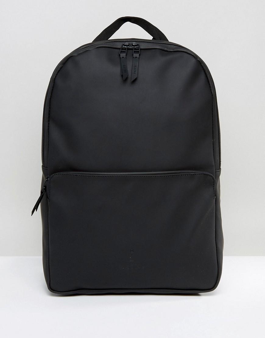 Rains | Черный водонепроницаемый рюкзак Rains - Зеленый | Clouty
