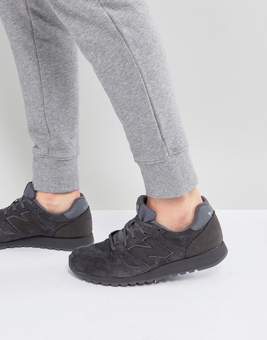 New Balance | Серые замшевые кроссовки New Balance 520 U520BC - Серый | Clouty