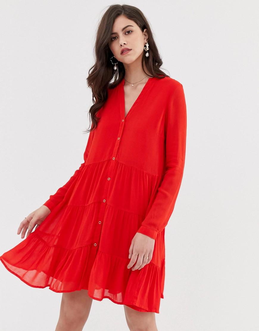 Y.A.S. | Платье на пуговицах Y.A.S - Мульти | Clouty