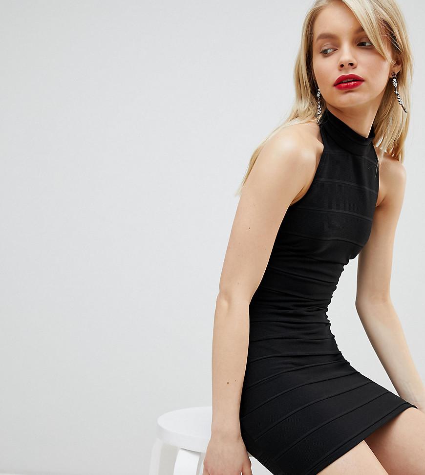 Miss Selfridge | Платье с халтером Miss Selfridge - Черный | Clouty