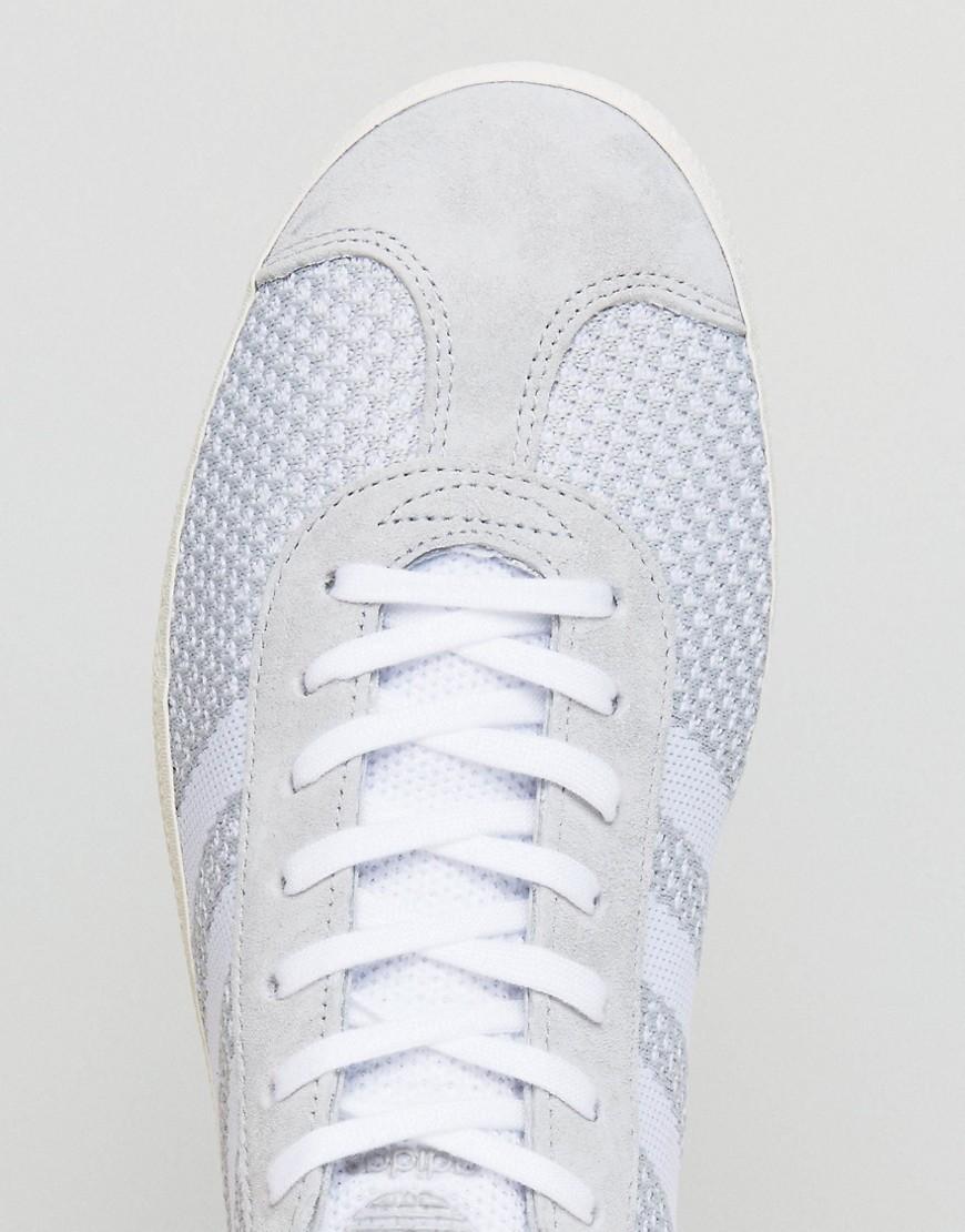 adidas Originals   Серые кроссовки adidas Originals Gazelle Prime Knit BB2751 - Серый   Clouty