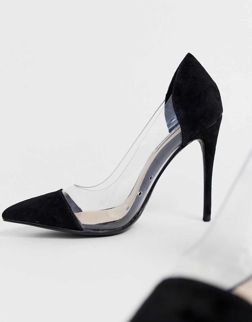 Steve Madden | Черные туфли-лодочки с острым носком Steve Madden - Черный | Clouty