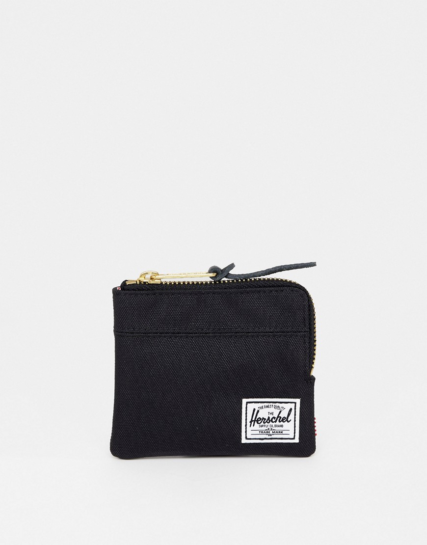 Herschel Supply Co | Бумажник Herschel Supply Co Johnny - Черный | Clouty
