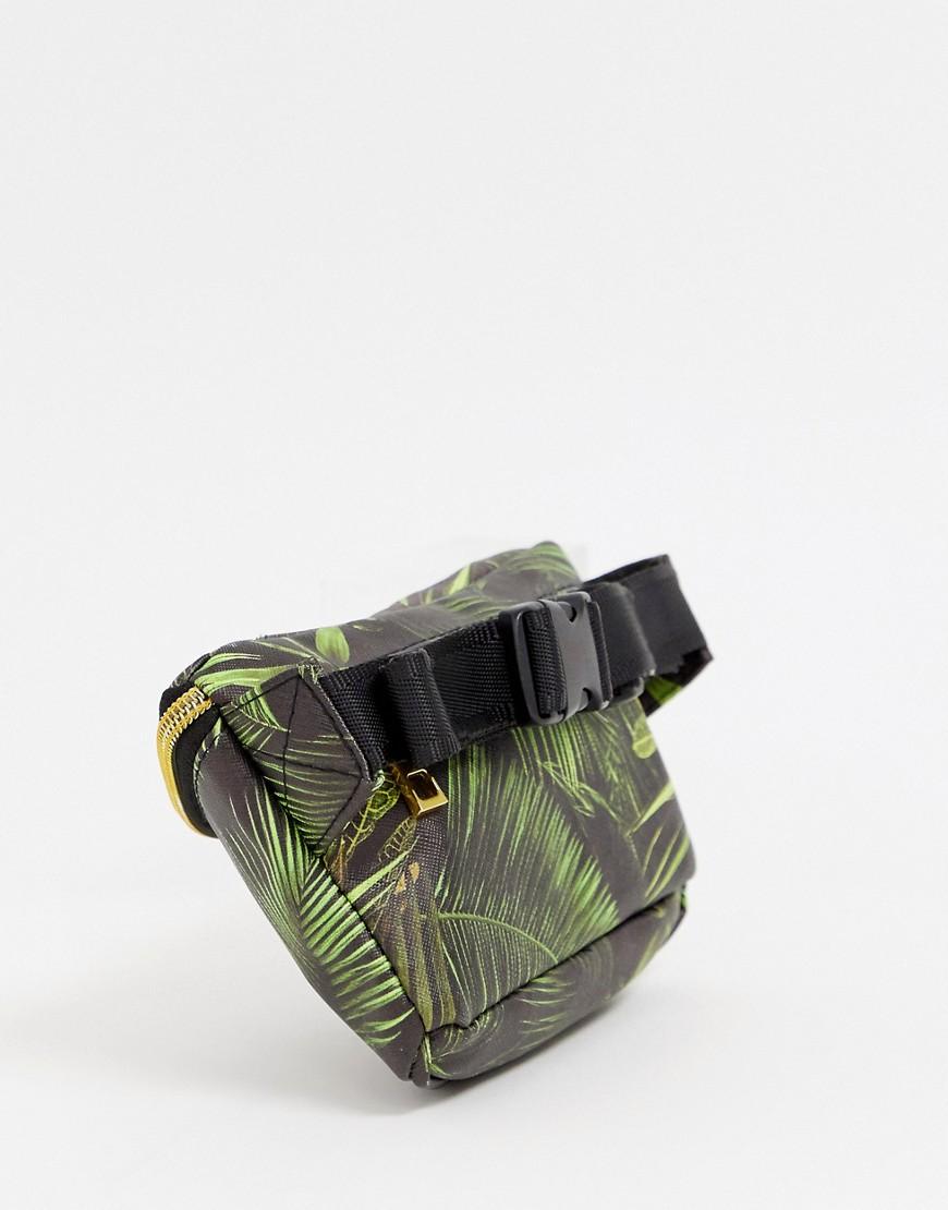 Mi Pac | Сумка-кошелек на пояс с пальмовым принтом Mi-Pac - Зеленый | Clouty