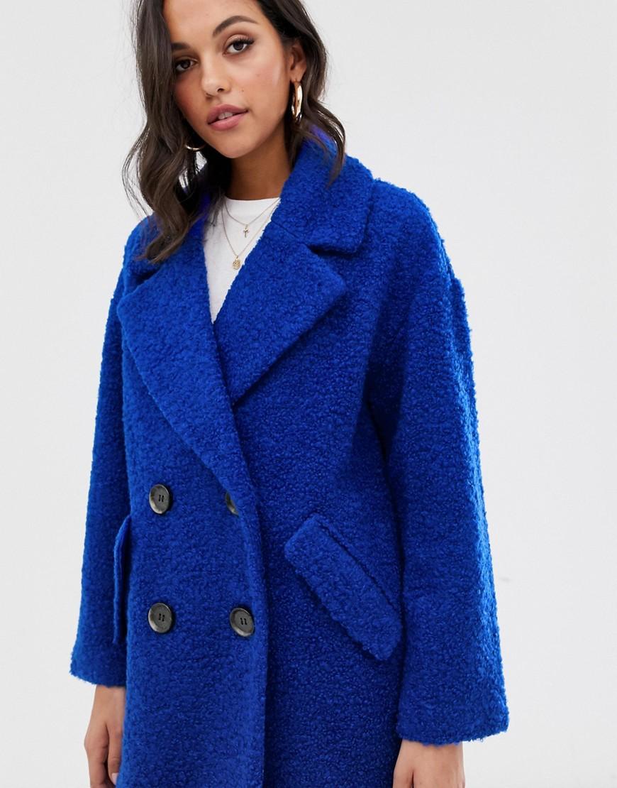 mbyM | Двубортное пальто mByM - Синий | Clouty