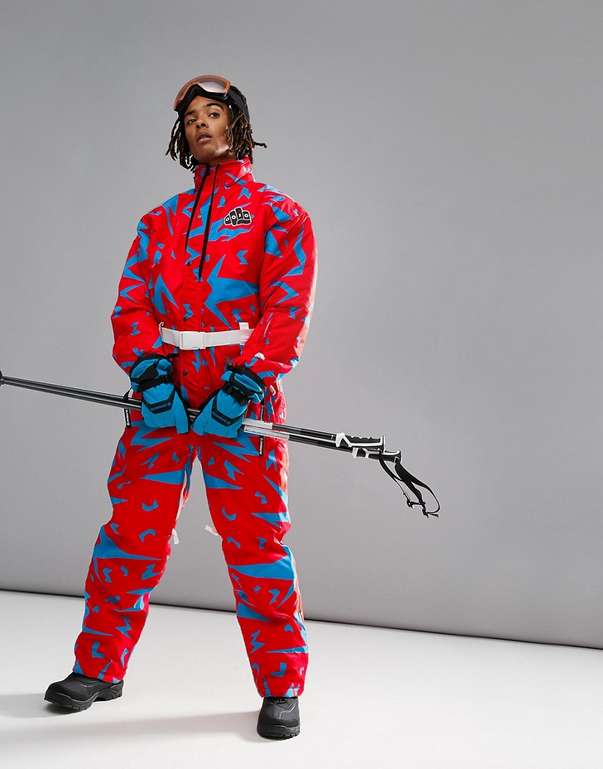 Old School Ski | Розовый лыжный костюм OOSC Starman - Розовый | Clouty