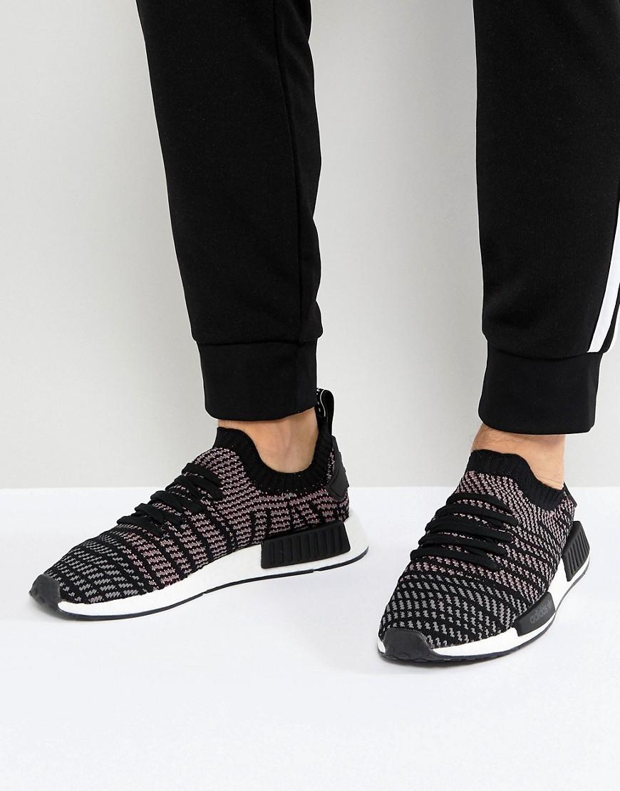 adidas Originals | Черные кроссовки adidas Originals NMD R1 STLT CQ2386 | Clouty
