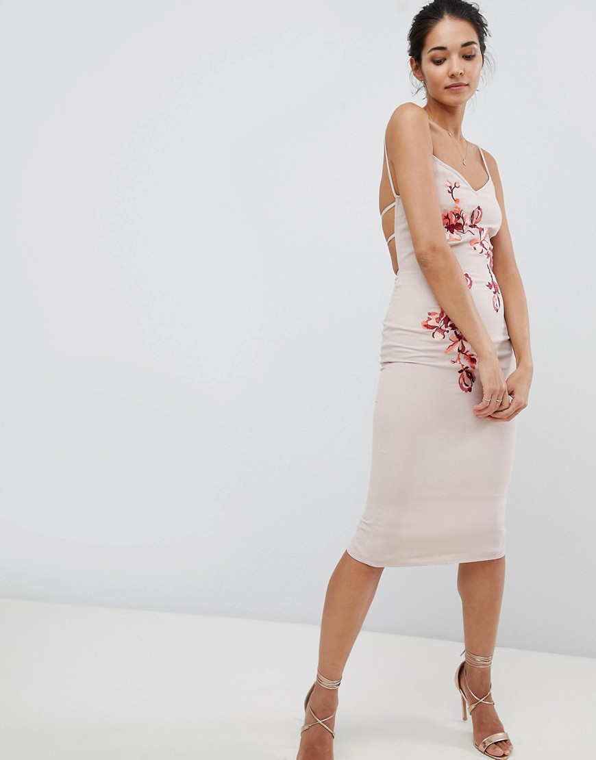 Hope & Ivy | Платье на бретелях с вышивкой Hope & Ivy | Clouty