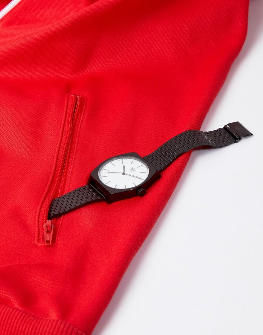 adidas   Черные наручные часы Adidas Z02 Process - Черный   Clouty