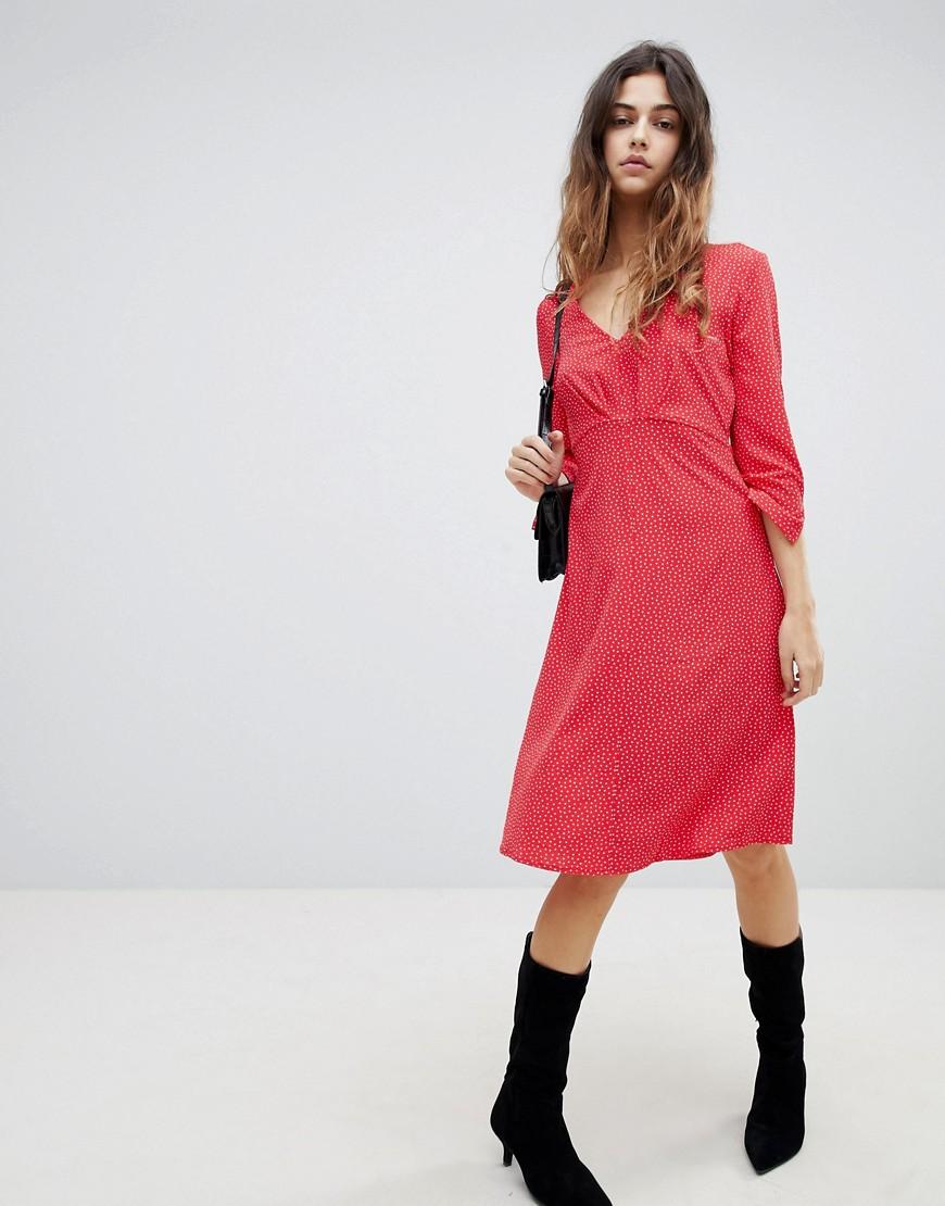Soaked In Luxury | Платье с принтом Soaked In Luxury - Розовый | Clouty