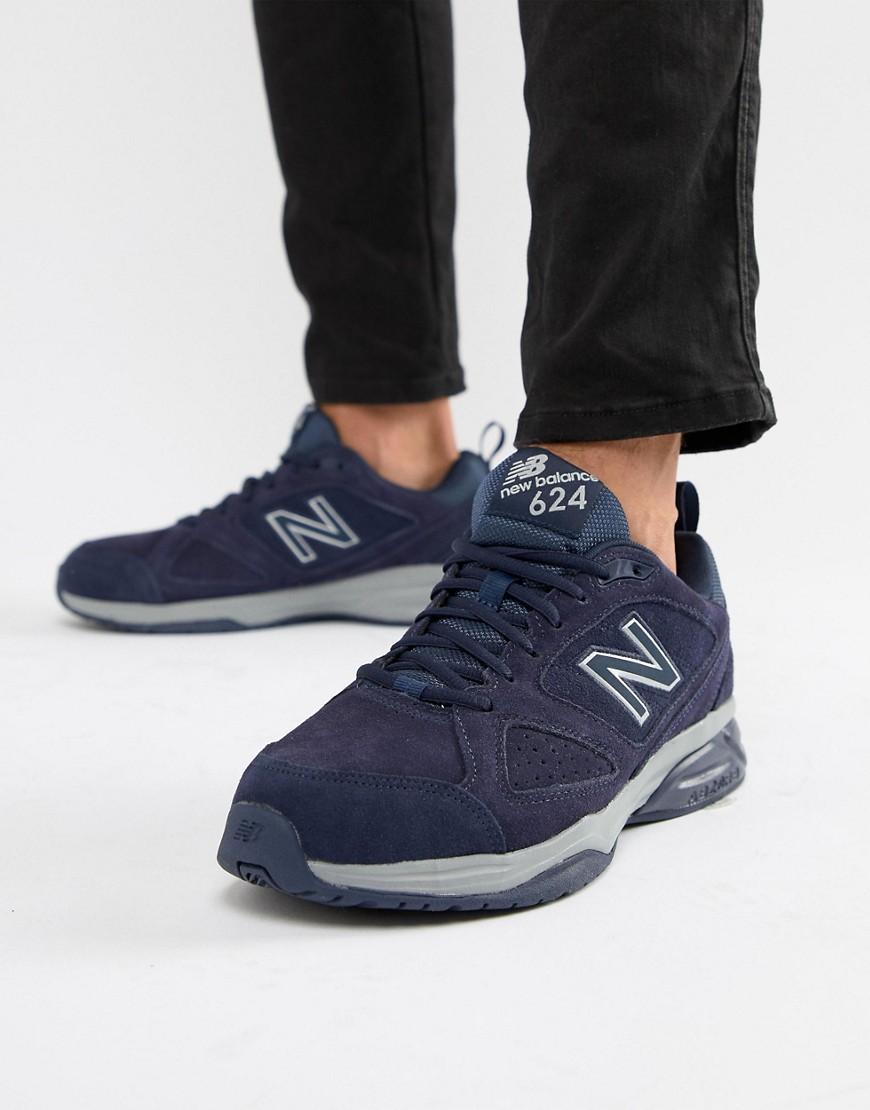 c20ea476 New Balance | Темно-синие кроссовки New Balance 624 MX624NV4 - Темно-синий  ...