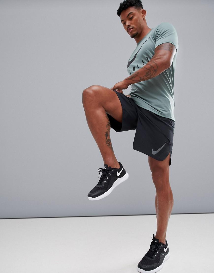 NIKE | Черные шорты Nike Training Flex Repel 3.0 885962-010 - Черный | Clouty