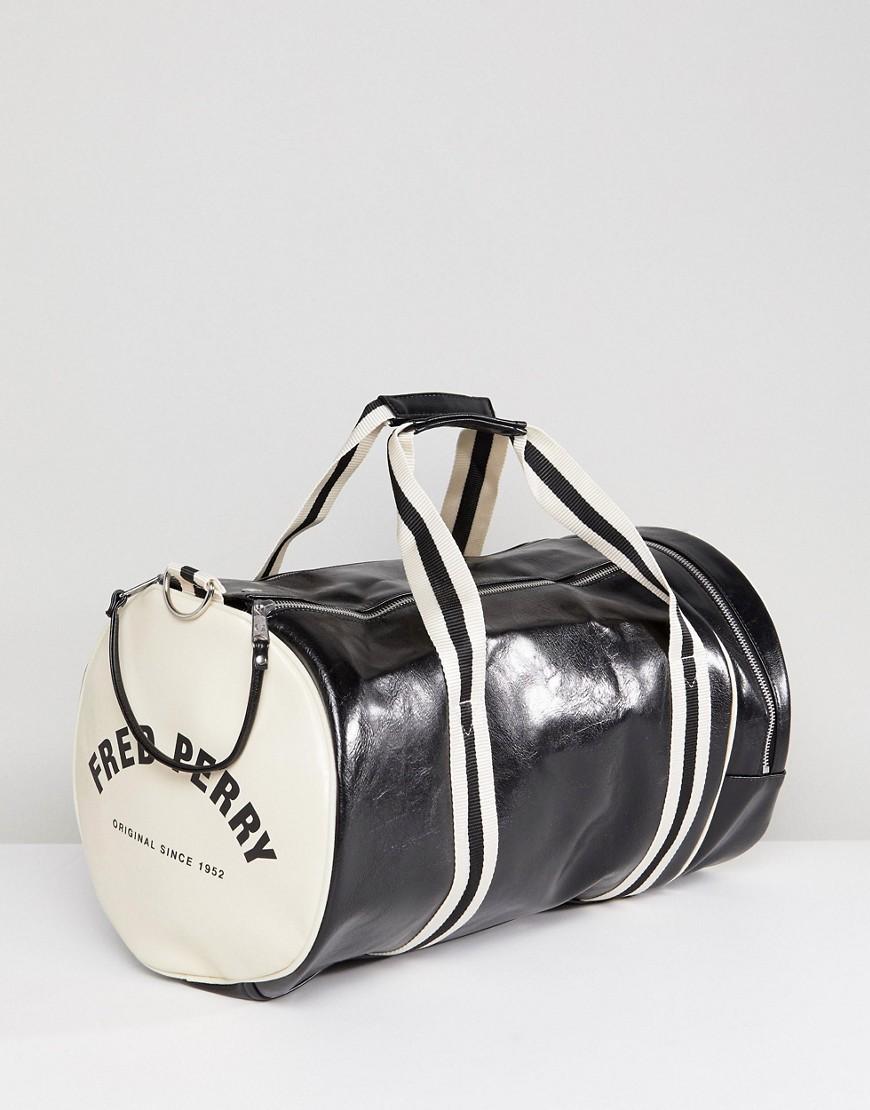 557ecbbfea70 Fred Perry | Черная классическая сумка Fred Perry - Черный | Clouty ...