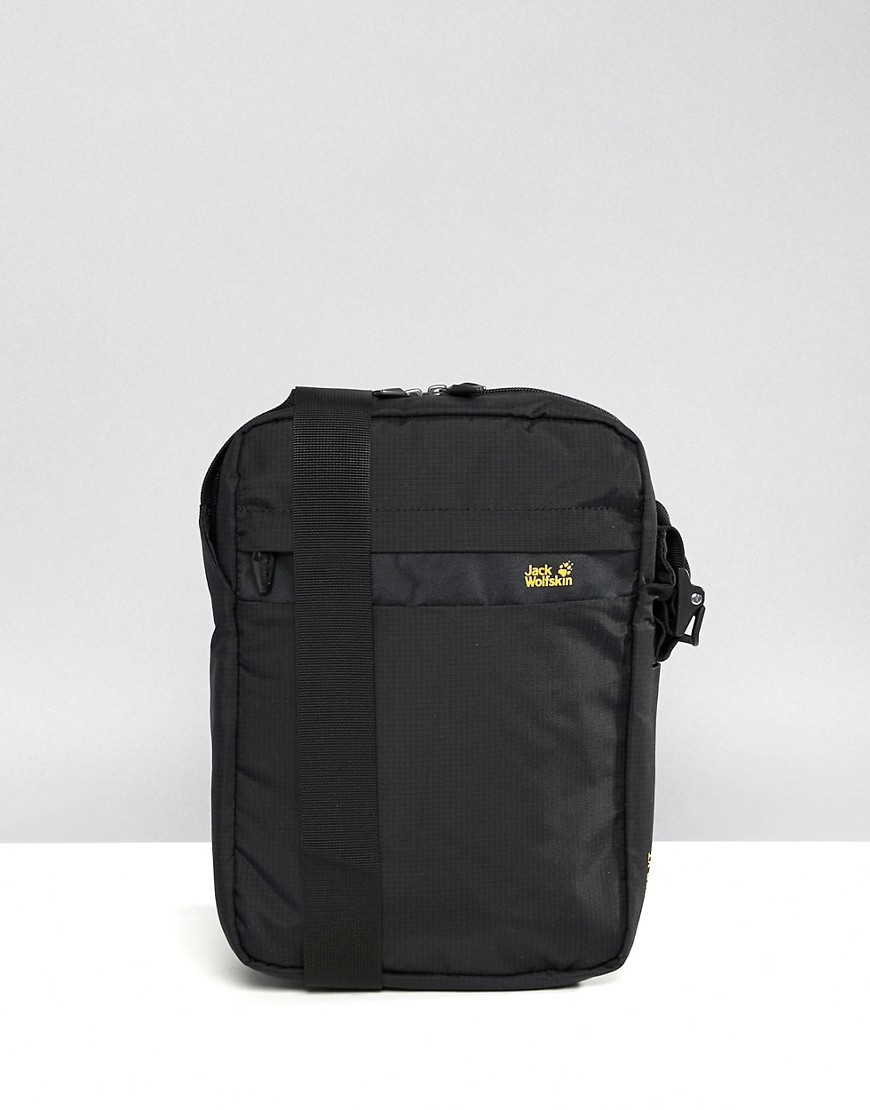 3a9b6760994b Jack Wolfskin | Черная сумка для авиапутешествий Jack Wolfskin Purser XT -  Черный | Clouty ...