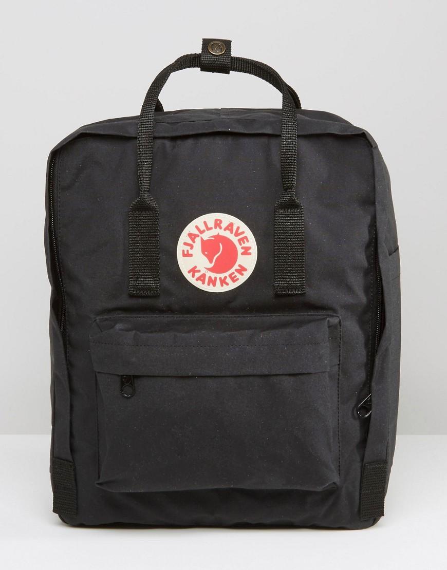 Fjällräven | Черный рюкзак объемом 16 литров Fjallraven Kanken - | Clouty