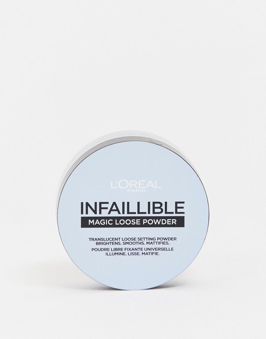 L'Oréal Paris | Рассыпчатая закрепляющая пудра L'Oreal Paris Infallible 01 Universal - Бесцветный | Clouty