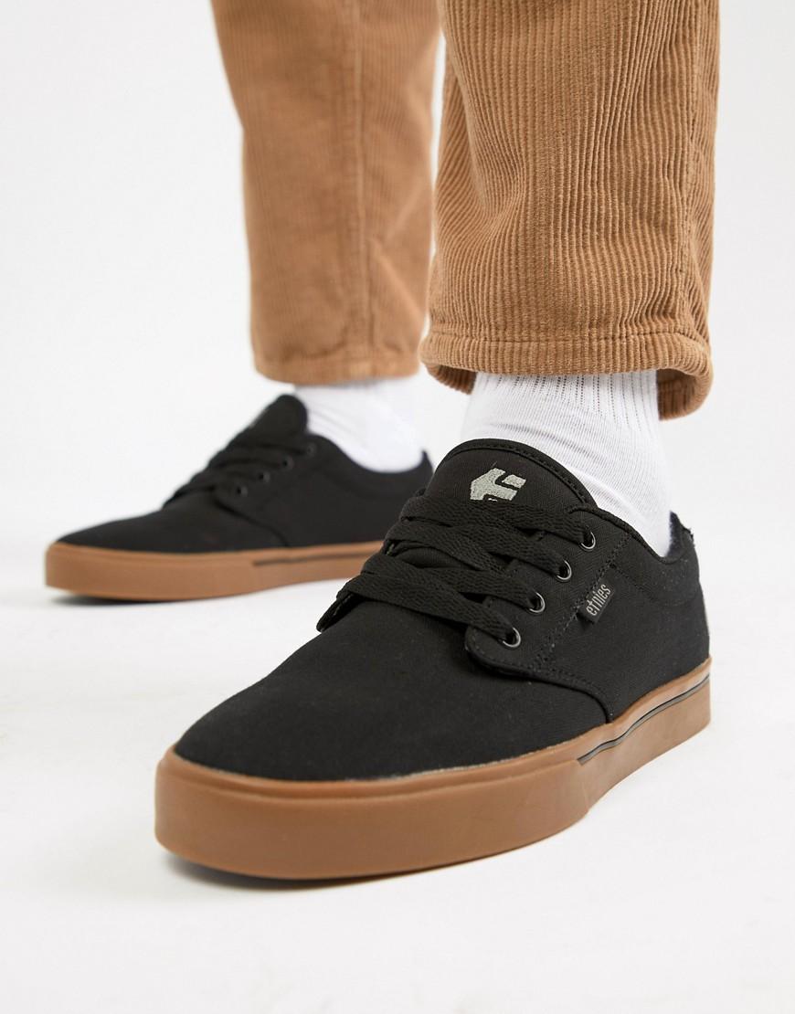 2e1ab1eb Черные кроссовки Etnies Jameson 2 ECO - Черный CL000021849017, цвет ...
