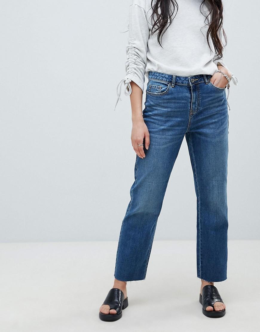 VERO MODA | Прямые джинсы Vero Moda - Синий | Clouty