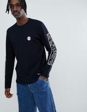 Черный лонгслив Element x Keith Haring -